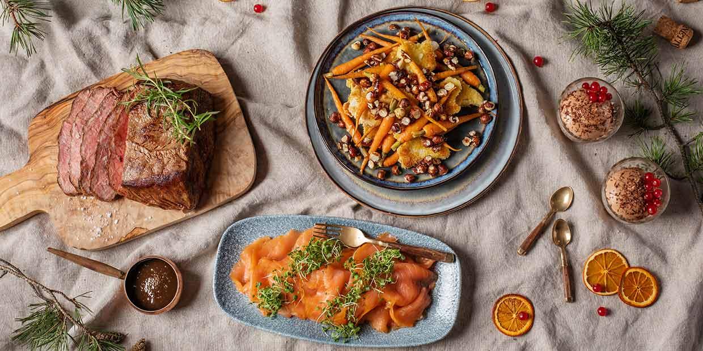 Pühadeaja maitsvaimad palad serveeritakse Rootsi lauas