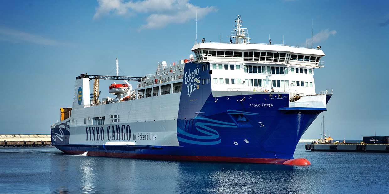 MS Finbo Cargo alustab 6. aprillil kaubalaevana