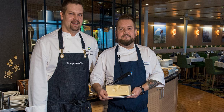 Täiuslik Rootsi laud lõpeb juustuga