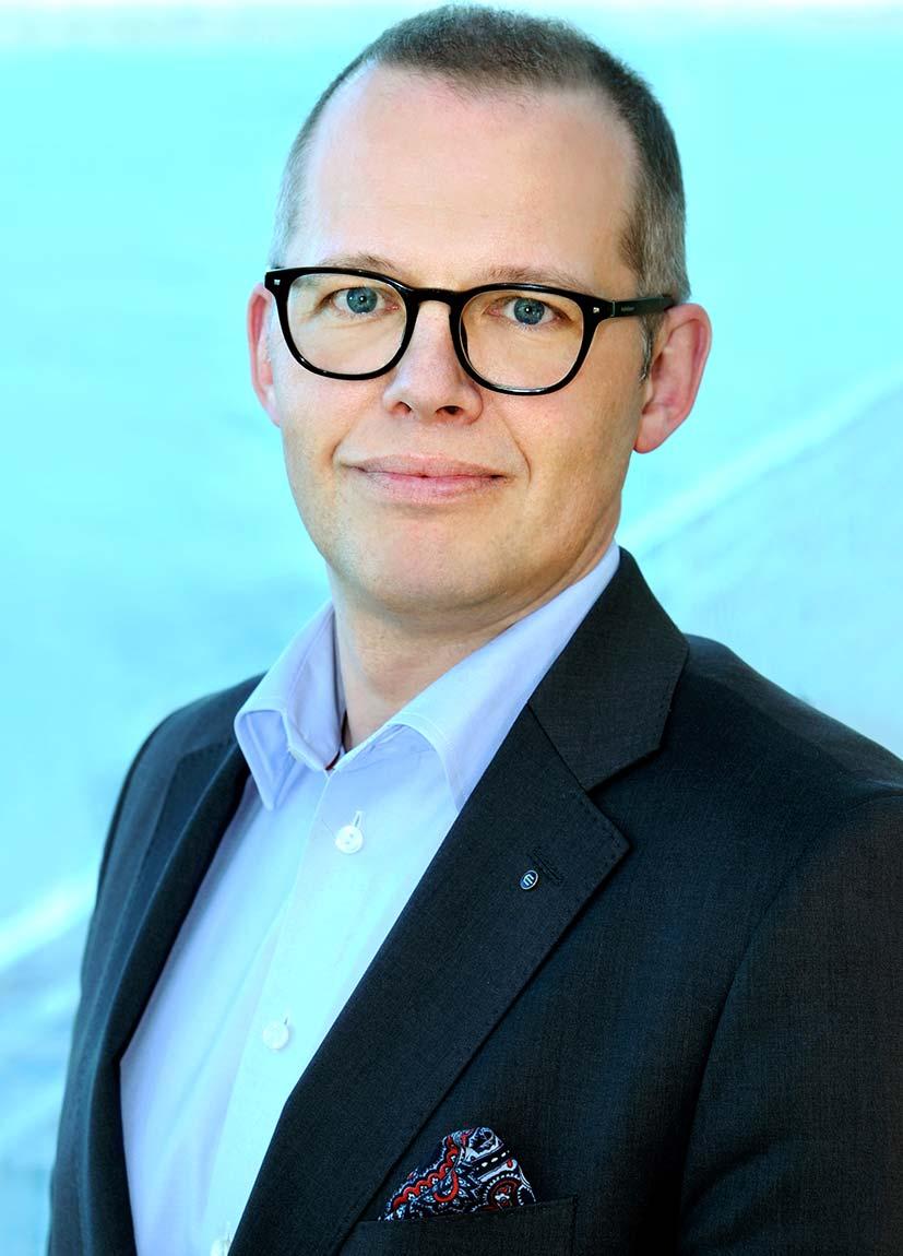 Eckerö Groupi tegevdirektor Björn Blomqvist