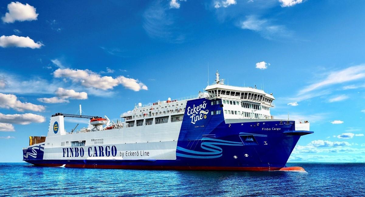 MS Finbo Cargo on Tallinn/Muuga-Helsinki/Vuosaari route