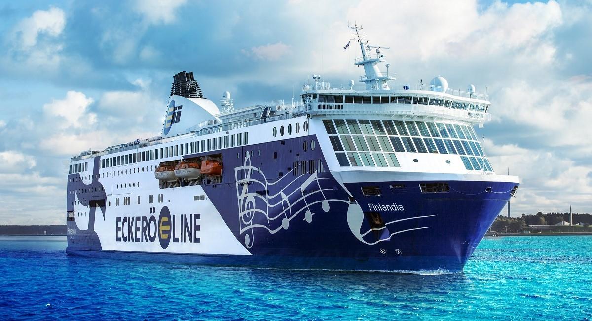 MS Finlandia on Tallinn-Helsinki route