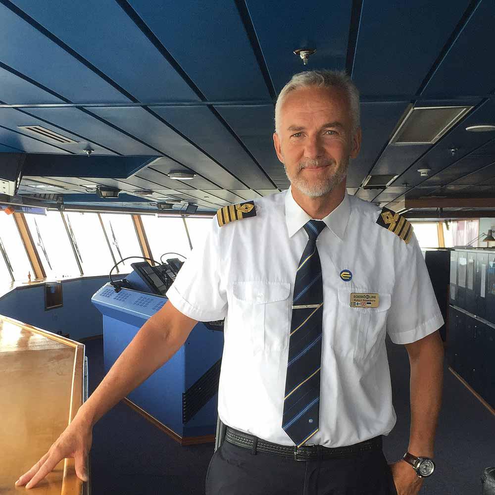 MS Finlandia kapten Robert Strömberg